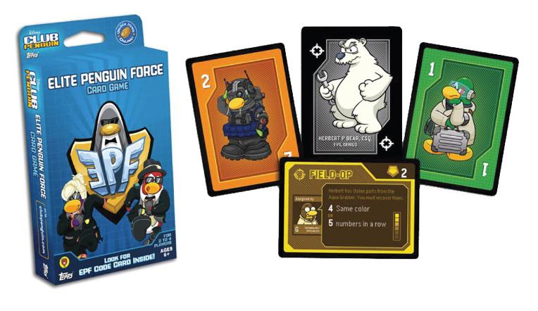 CLUB PENGUIN Elite Penguin Force Deck