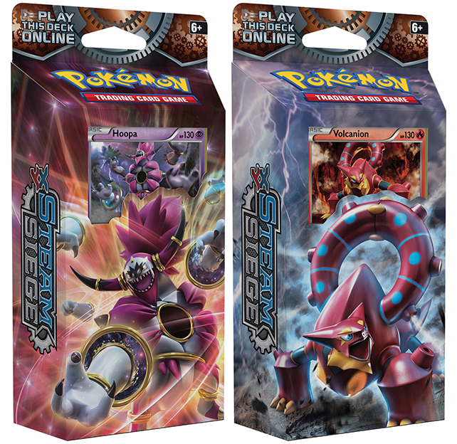 Pokémon XY - Steam Siege PCD