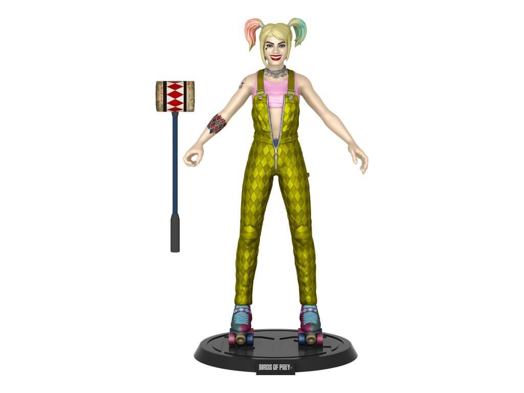 DC COMIC - Bendy Figure- Film Harley (BOP)