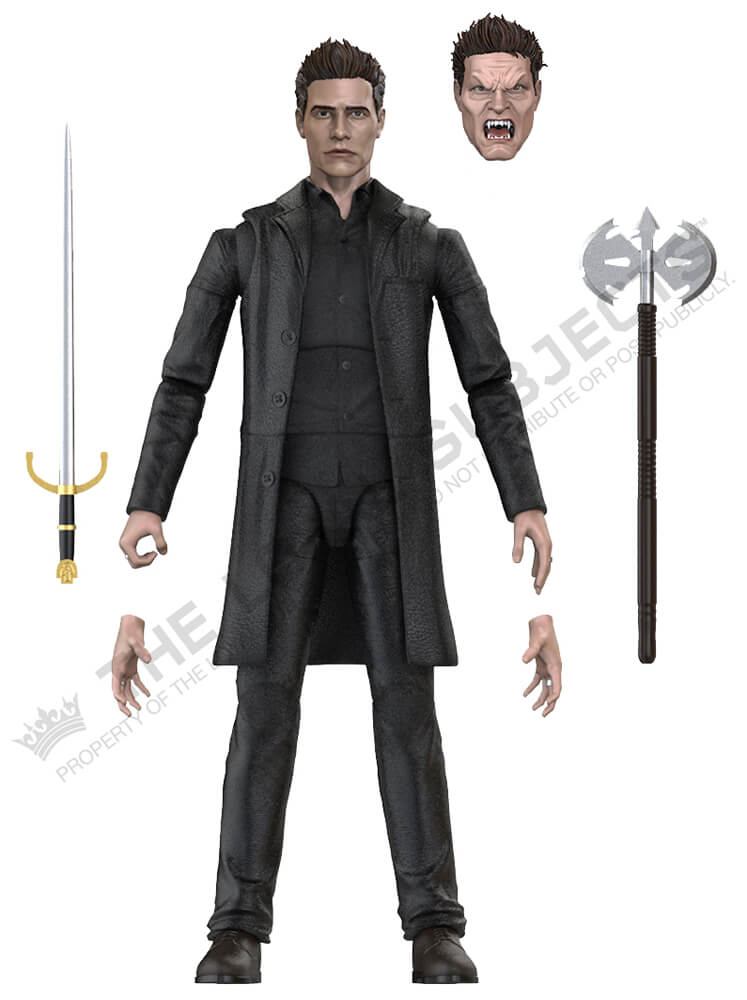 "BUFFY THE VAMPIRE SLAYER Angel BST AXN 5"" Action Figure"
