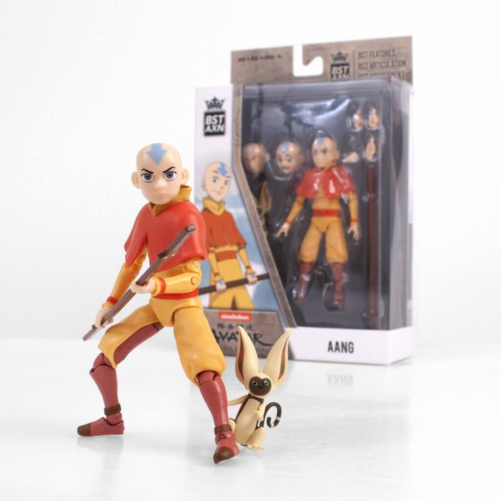 "AVATAR: THE LAST AIRBENDER Aang BST AXN 5"" Action Figure"
