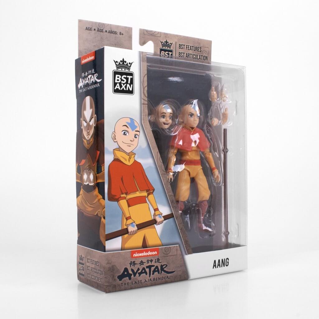 "AVATAR: THE LAST AIRBENDER Aang BST AXN 5"" Action Figure"