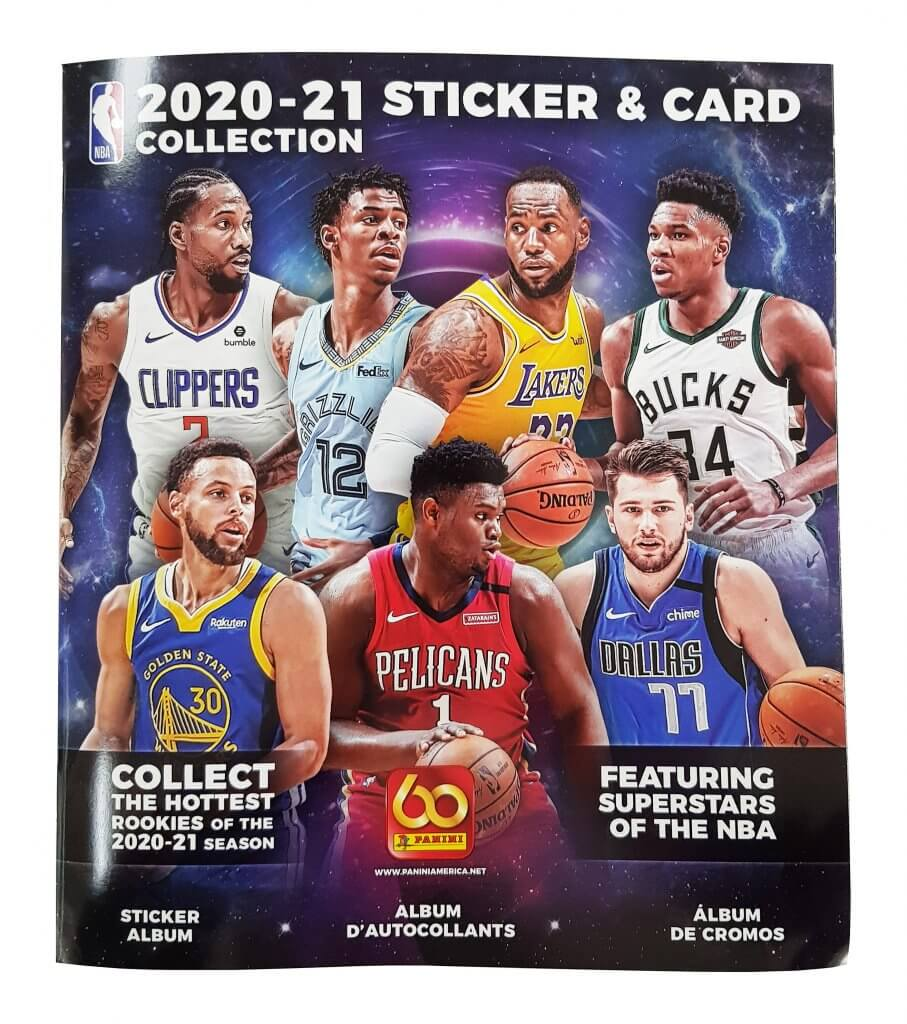 PANINI NBA 2020/2021 – Stickers and Card Collection - Albums