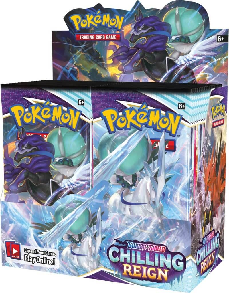 POKÉMON TCG Sword and Shield - Chilling Reign Booster